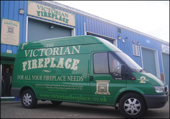 Whitstable warehouse and van